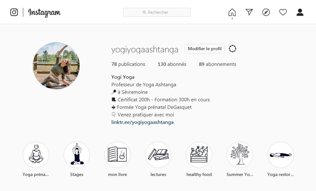 Retrouvez moi sur  instagram !